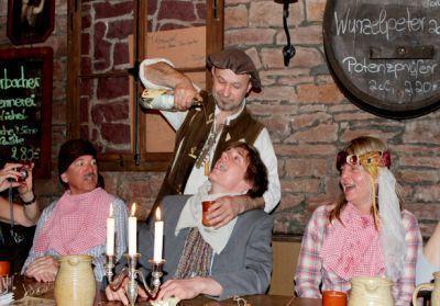Rittermahl in Franken