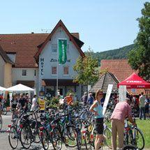 Fahrradfahren im Lieblichen Taubertal und im Main Tal