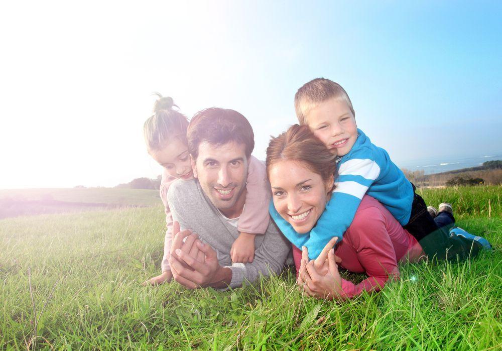 Badeurlaub mit der Familie