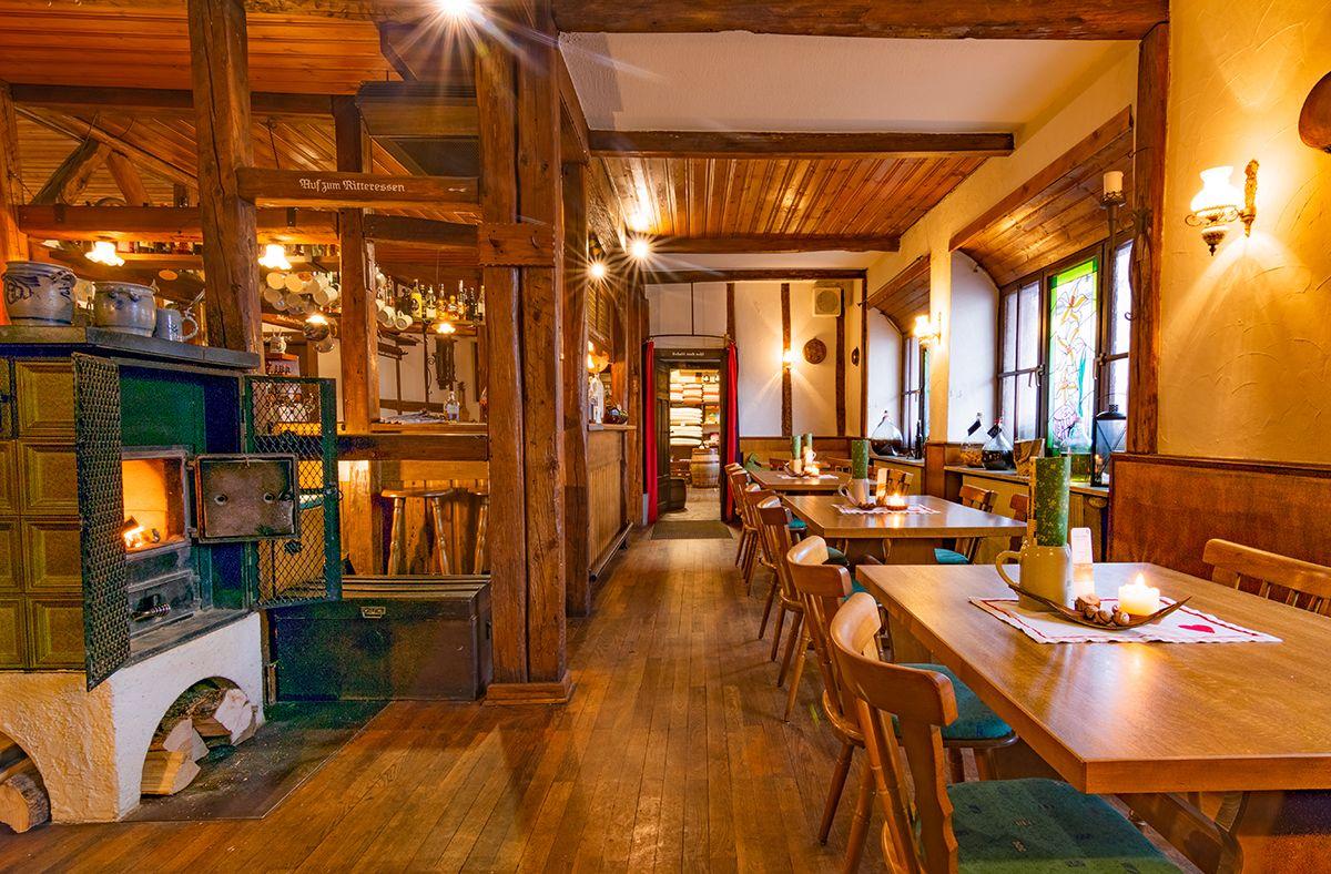Restaurant und Biertheke in Werbach