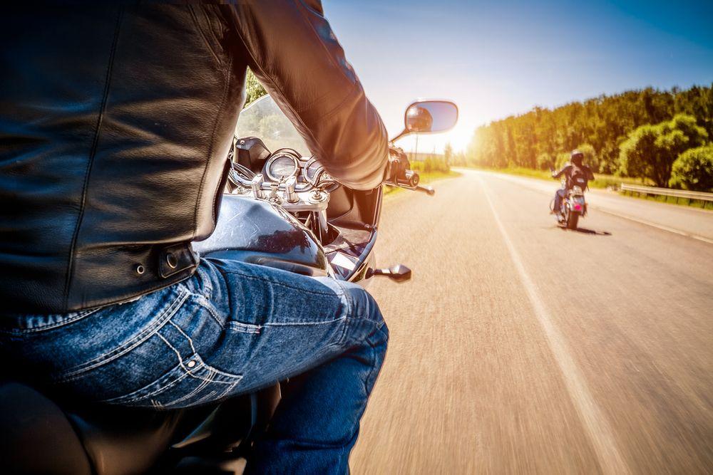 Fahre erprobte Motorradtouren